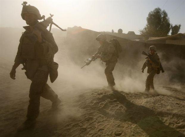 Αμερικανοί πεζοναύτες στη μάχη της Ράκα