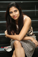 Actress Vanditha Stills in Short Dress at Kesava Movie Success Meet .COM 0197.JPG
