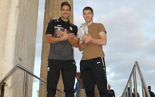 Οι παίκτες της Ντουντελάνζ πήγαν στην Ακρόπολη και έβγαλαν φωτογραφία σχηματίζοντας τον αλβανικό αετό