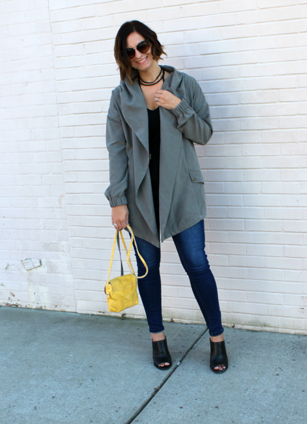 bohoblu, utility jacket, how to style a choker, fall fashion