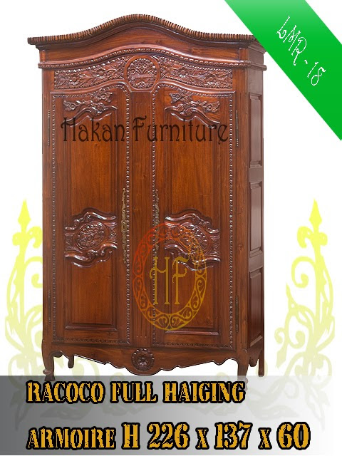 Racoco full Haiging armoire H226x137x60
