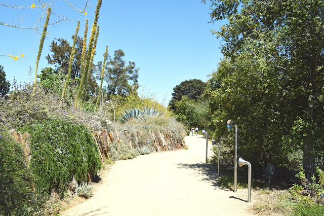 The Natural History Museum of LA Nature Garden