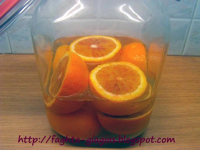 Τα φαγητά της γιαγιάς - Λικέρ πορτοκάλι