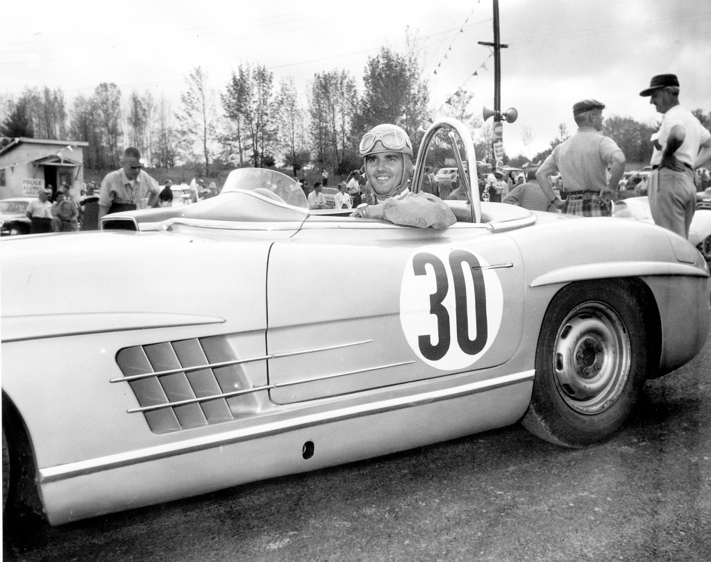 Open For Victories: In 1957, Paul Ou0027Shea Driving The Mercedes Benz 300 SLS  Won The US Sports Car Championship For The Third Time