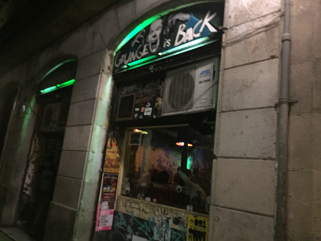 Nevermind bar Barcelona