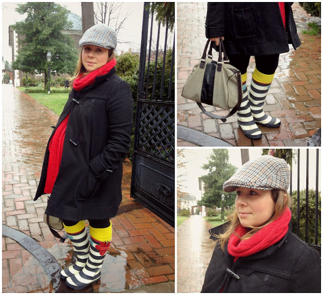 Winter Maternity Fashion and Style, Very Busy Mama in Old Town Alexandria, Joules Boots