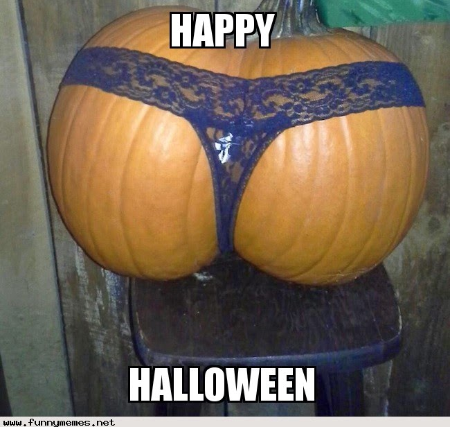 Thong Pumpkin Butt