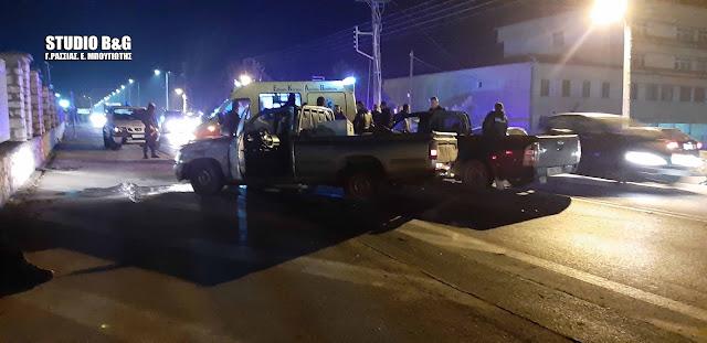 Τροχαίο ατύχημα έξω από τις Αγροτικές φυλακές στο Ναύπλιο με τραυματία