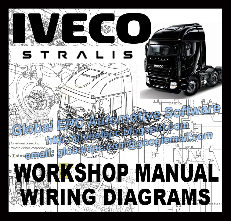 iveco stralis wiring electrical diagram manual