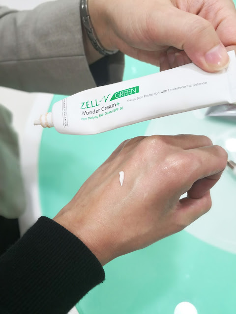 Zell-V Green Wonder Cream+