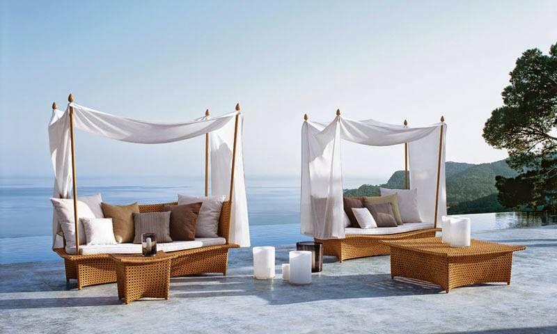 Elegant Daydream Outdoor Furniture From Dedon