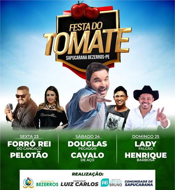 Festa do Tomate em Sapucarana Bezerros -PE