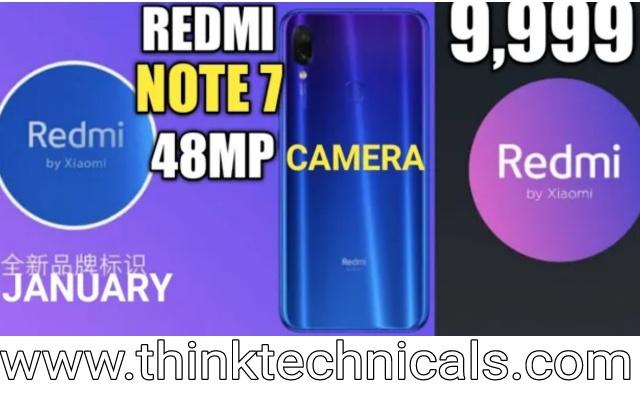 Xiaomi Redmi Note 7 Launched - 48MP + SD660 & More