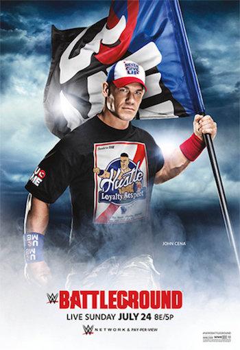 WWE Battleground 2016 PPV WEBRip 480p x264 700mb