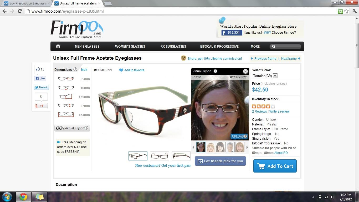 2f693639da Product Review  Firmoo Prescription and Fashion Glasses