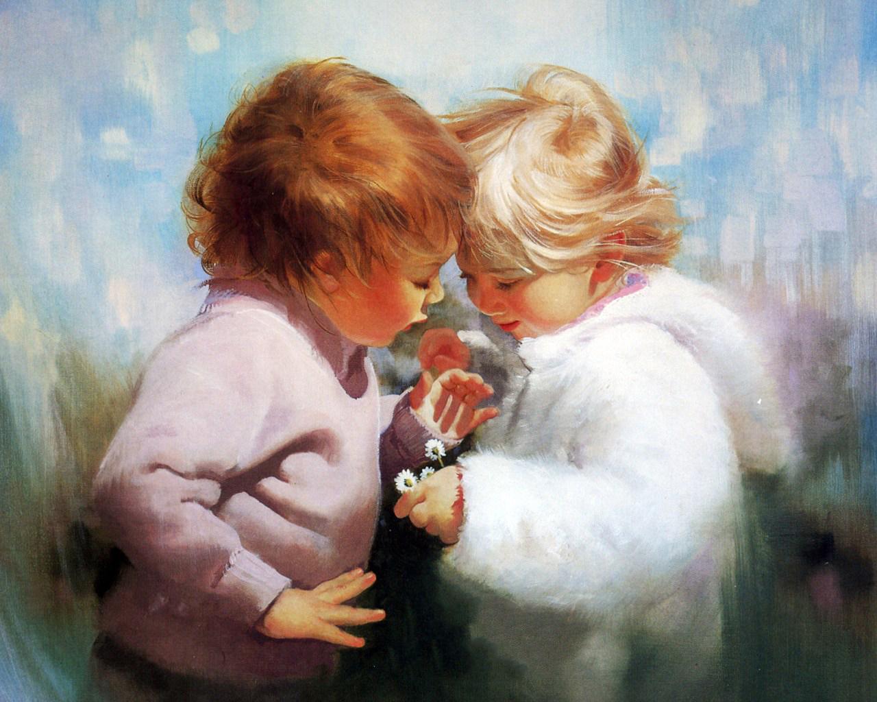 Открытки дарю любовь свою, девочке лет