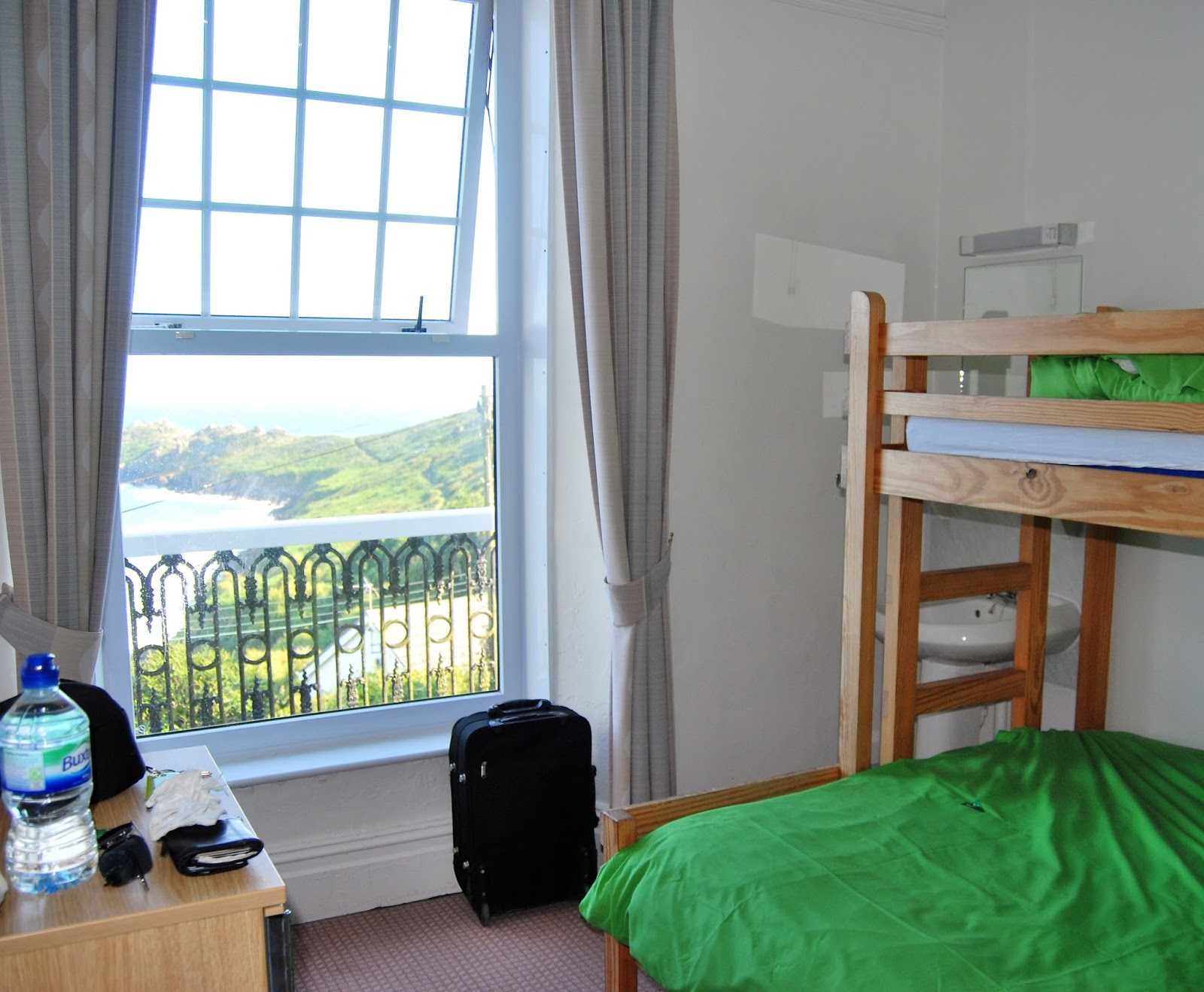 Staying in YHA Coverack, photo by modern bric a brac