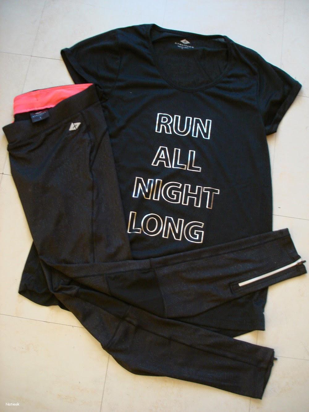 Go sport tenue Athlitech spécialement conçue pour la course à pied.