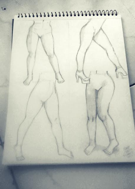 Dibujo de piernas