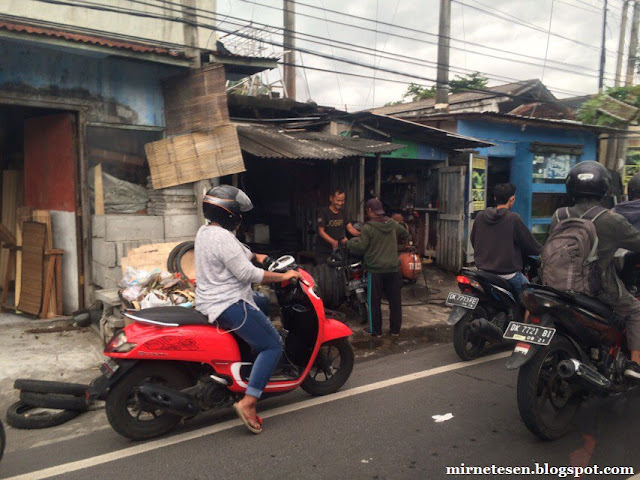 Нерайский Бали - проблемы на дорогах
