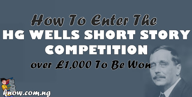 How To Enter The HG  Wells Short Story Competition