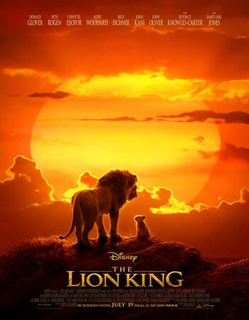 The Lion King (2019) Dual Audio Hindi 720p 480p HDCAM x264 1GB Movie Download