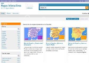 JueduLand Blog Mapas flash interactivos de Enrique Alonso y otros