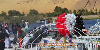 Egypt: Aswan International Art Festival begins in Seville for Nile boats