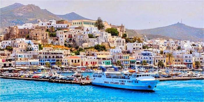 Come raggiungere Naxos