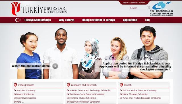شروط و متطلبات والتقديم للمنحة التركية 2017 - 2018