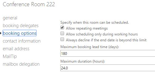 Don T Allow Double Booking Meeting Rooms