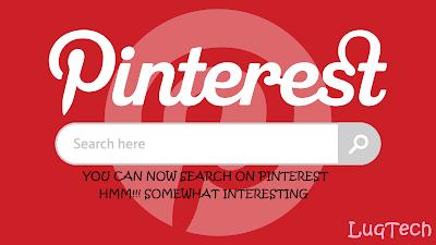Pinterest-search-engine