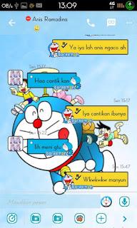 BBM Doraemon Versi 2.9.0.51 Apk Terbaru Gratis
