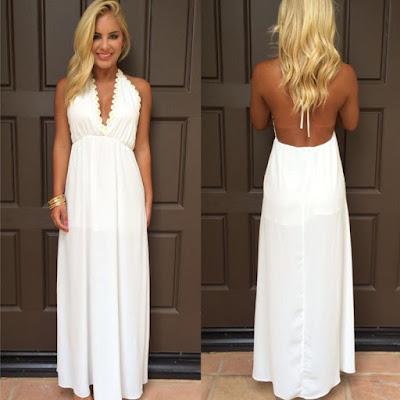55b2ffb50b Elegancka seksowna długa sukienka plażowa . Nowość!!!