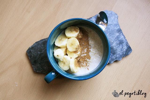 Receta Porridge de avena (gachas de avena)