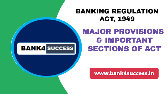 Banking Regulation Act 1949 and Important Sections PDF Download