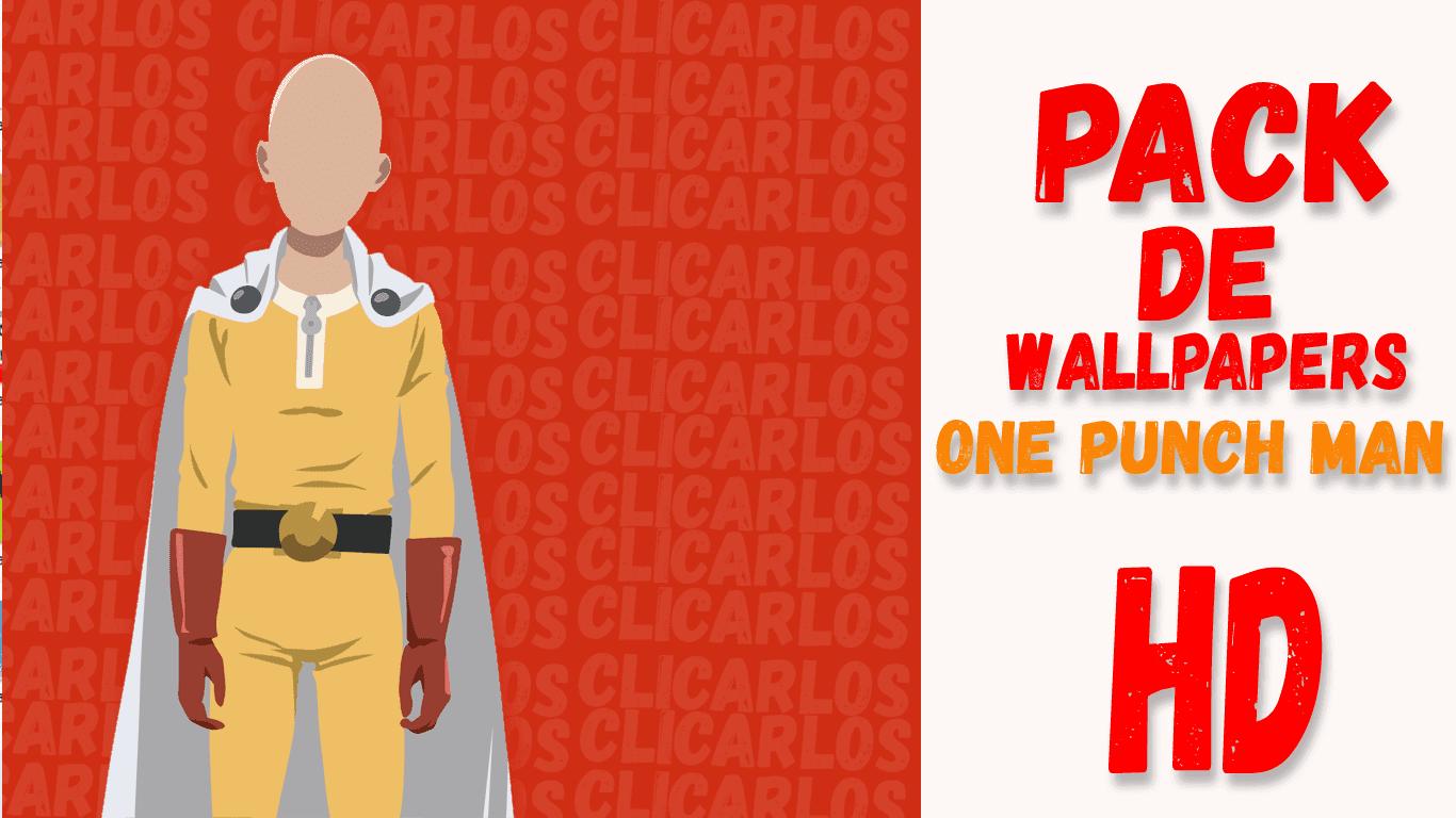 Pack De Wallpapers De One Punch Man Clicarlos
