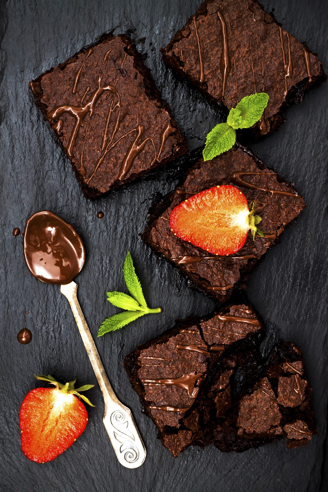 One Bowl Vegan Chocolate Brownie