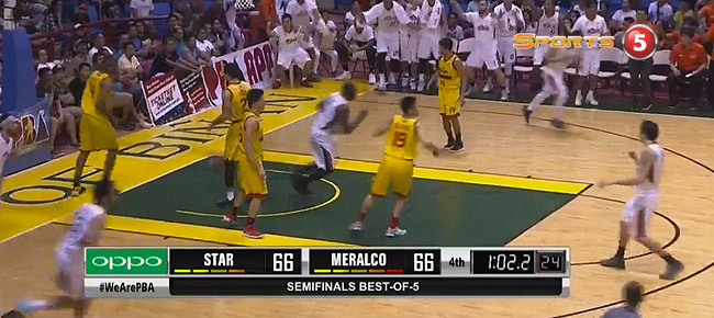 Meralco def. Star, 72-66 (REPLAY VIDEO) Semis Game 1 / October 1