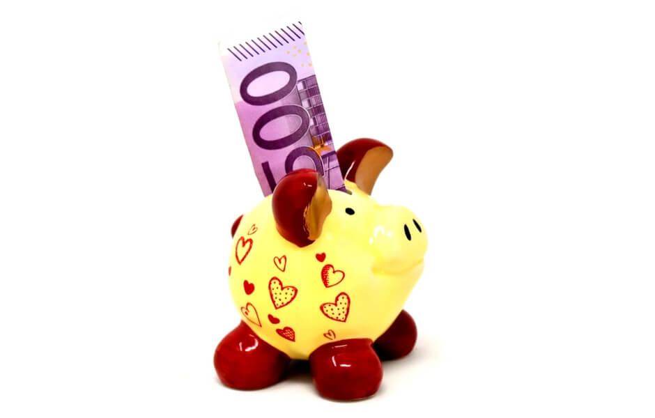spaarvarken 500 euro