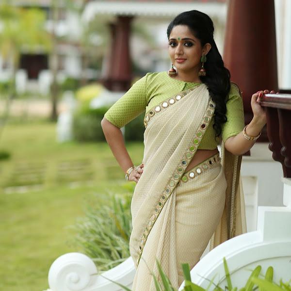 Kavya Madhavan latest photos in saree for Laksyah