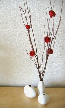 Kerajinan Tangan Dari Kertas Bekas, Bunga Mawar Kertas 5