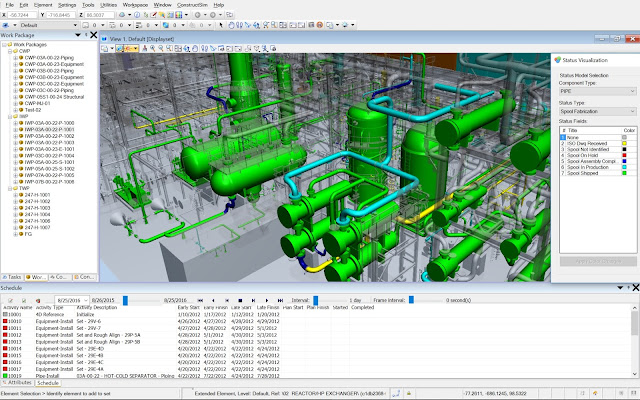Bentley's CONNECT Edition of ConstructSim Aligns Engineering Deliverables with the Path of Construction on Projects of All Sizes from Mega to Small