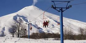 Esquiar em Ski Pucón no Chile