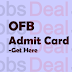 OFB Trade Apprentice Admit Card 2017 – OFB Apprenticeship Exam Date