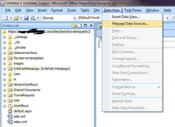list aggregation sharepoint 2007