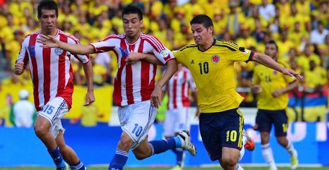 Colombia vs Paraguay en vivo Copa America Centenario