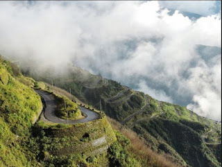 गंगटोक – नाथुला रोड  gangtok nathula road or drra