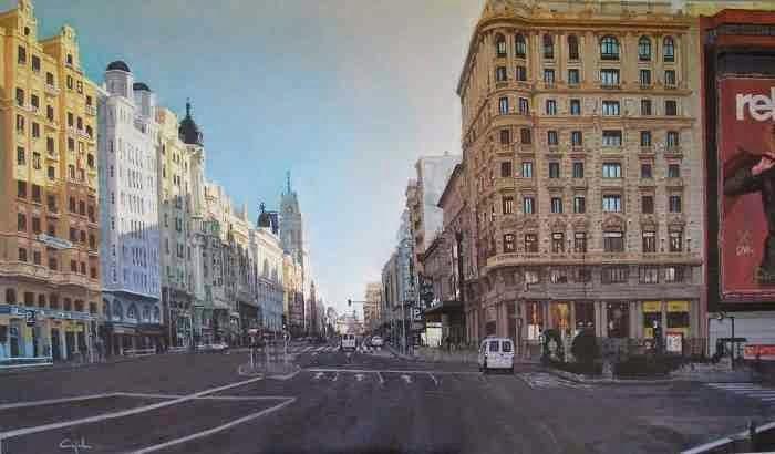 Городские пейзажи. Jose Manuel Cajal