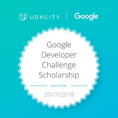Google Developer Challenge Scholarship 2017/2018 - www.hafizhamza.com